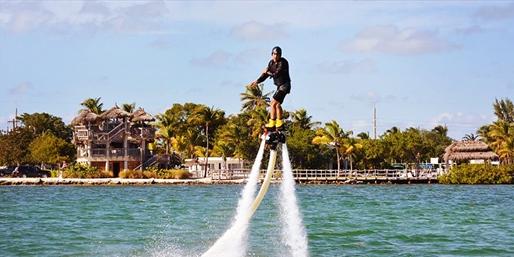 $109 -- Jet Pack or Flyboard Flight Over The Keys, Save 55%