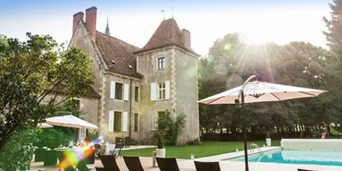209€ -- Bourgogne : échappée bucolique en château, jsq -50%