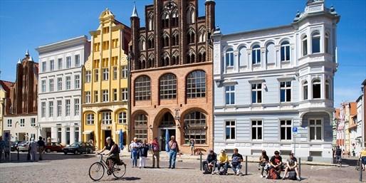 69 € -- Stralsund: Ostsee-Tage im Apartment, -41%