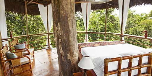£289pp -- Peru Rainforest: All-Inc Treehouse Stay w/Tours