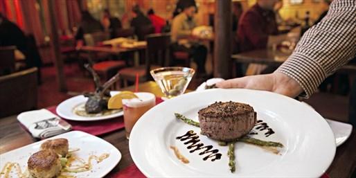 ¥6,000 -- 50%OFF ニューヨーク ブルックリンの老舗ステーキハウス ディナークーポンUS100ドル 2名分
