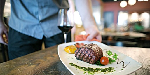$59 -- CityCentre: Top-Rated Steak Dinner for 2, 40% Off