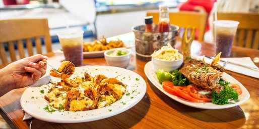$20 -- Captain Jim's: 'One-Of-A-Kind' Seafood Dinner for 2