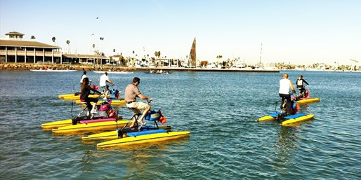 $11 -- Long Beach: One-Hour Hydrobike Rental, Reg. $20