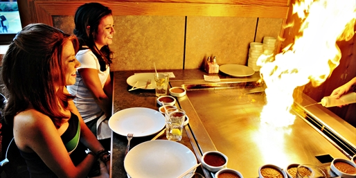 Award-Winning Hibachi or Sushi Dinner for 2, Half Off