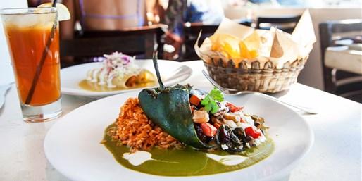 $45 -- Tortilla Republic: Dinner & Drinks for 2, Half Off