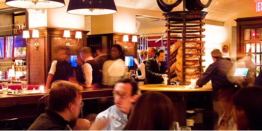 $49 -- Chic Midtown Brasserie: French Dinner for 2, Half Off