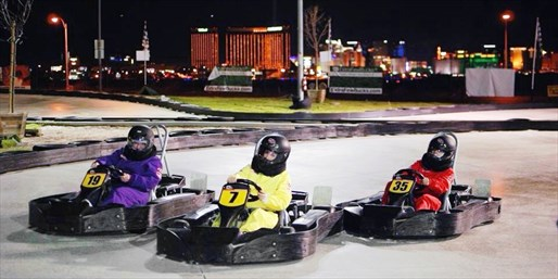 $25 & up -- Go-Kart Racing up to 45 MPH for 1 or 2
