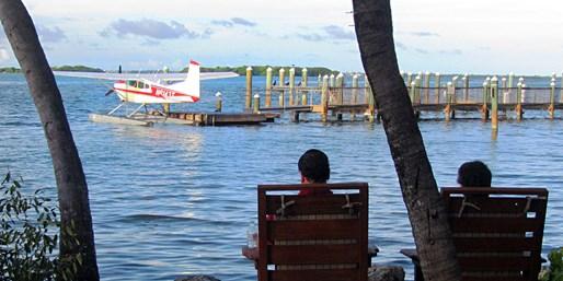 $1080 -- Half-Day Fishing Trip via Seaplane, Reg. $1350