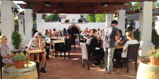 $29 -- Rancho Capistrano: 50% Off Wine Flights & Apps for 2