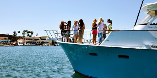 $45 -- Newport: Sunset or Brunch Cruise for 2 w/Drinks