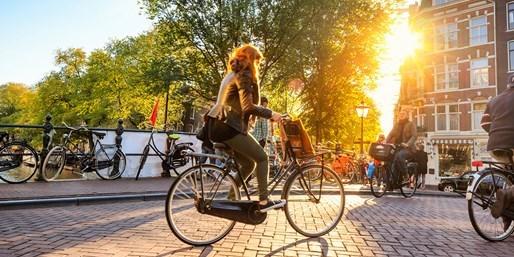 £65 & up -- Amsterdam: 4-Star Stay inc Breakfast, Save 47%