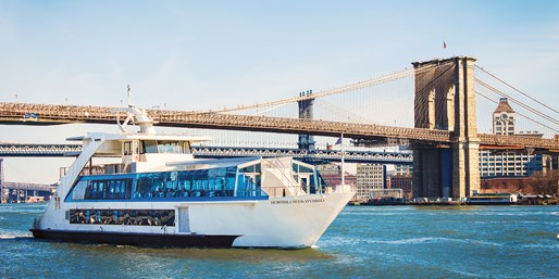 $99 -- Weekend Happy Hour River Cruise for 2, 40% Off