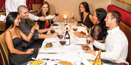 $99 -- Ruth's Chris: 5-Course 50th Anniversary Wine Dinner