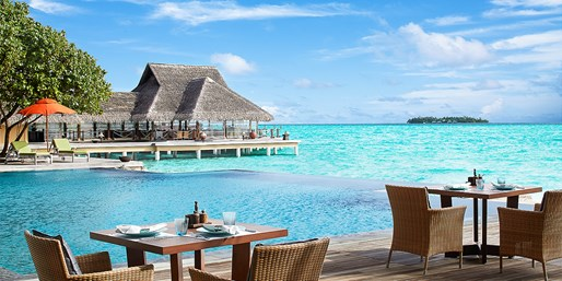 Travelzoo Deal: $2396 -- Luxe Maldives 4-Nt. Over-Water Escape, $1519 Off