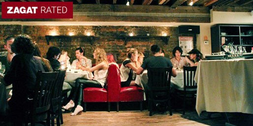 $59 -- West Village: 'Best Outdoor Dining' for 2 w/Wine
