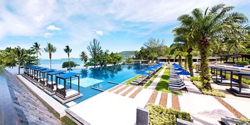 £195 -- 3-Nt Luxury Phuket Stay w/Breakfast, 48% Off