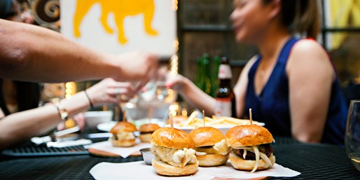 $29 -- Tasty Sliders & Drinks for 2 in Gramercy, Reg. $61