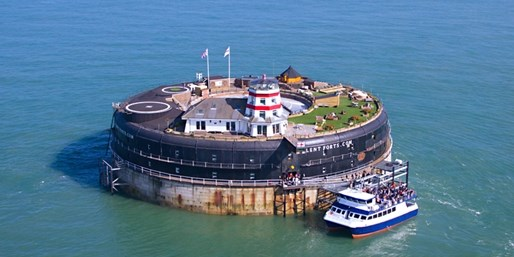 £449 -- Solent Island Fort Stay w/Meals & Tour, Was £950