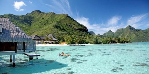 $1,546 -- French Polynesia: 5-Nt. Hilton Pool Bungalow Stay