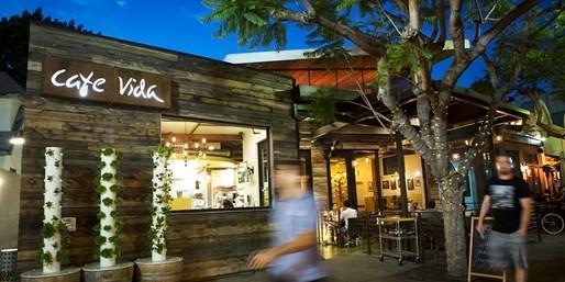 $35 -- Cafe Vida: Dinner & Drinks for 2 in Culver City