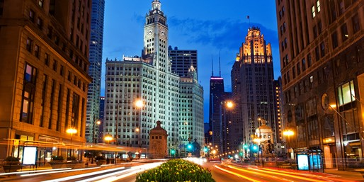 4-Star Chicago Hotel in Fall, Click to See More, From $105