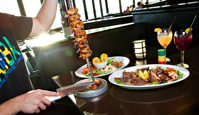 $55 -- Samba: Half Off Unlimited Steak & Shrimp Dinner for 2