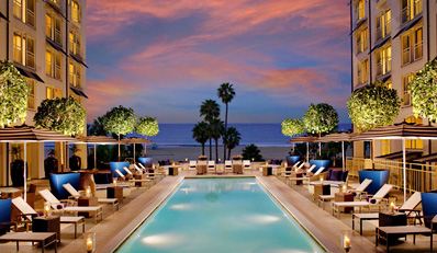 $99 - Conde Nast Pick: Loews Santa Monica Spa Day w/Wine