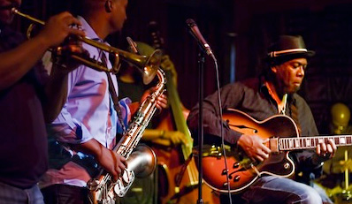 $49 - Nola's: Dinner & Drinks for 2 w/Live Jazz, Reg. $101