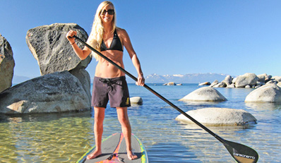 $45 -- Tahoe: Paddleboard or Kayak Tour & Lunch, Reg. $105