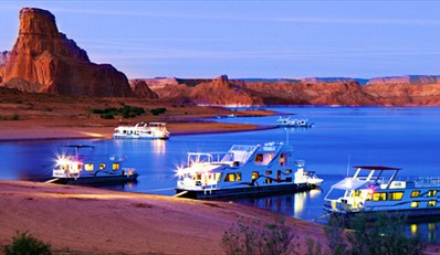 $799 -- Lake Powell 3-Day Houseboat Escape for 8, Save 60%