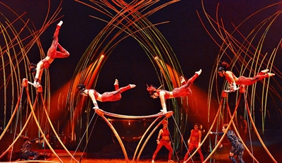 $85 -- Cirque: Best Seats w/Popcorn, Candy, Soda & Gift