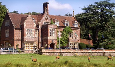 £79 -- Historic New Forest Manor Escape inc Meals, Save 41%