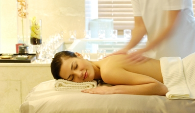 $99 -- InterContinental Spa: Massage or Facial w/Pedicure