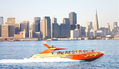 $12 -- High-Speed Boat Ride on SF Bay, Reg. $24