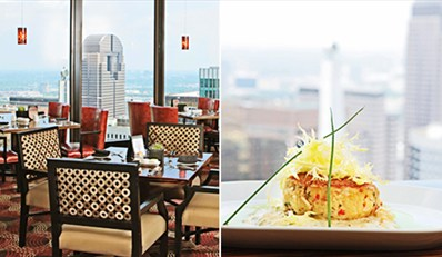 $59 -- Members-Only Tower Club: 48th-Floor Dinner for 2