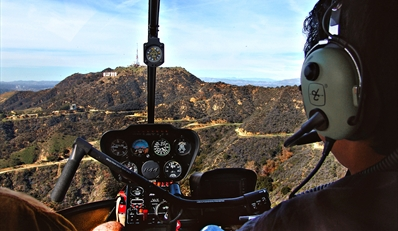 $99 -- Private Flight Lesson over LA w/Video, Reg. $249