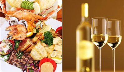 $59 -- Ocean and Earth Platter w/Wine for 2 in Broadbeach