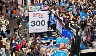 $9 - Travel & Adventure Expo: Admission for 2, Half Off