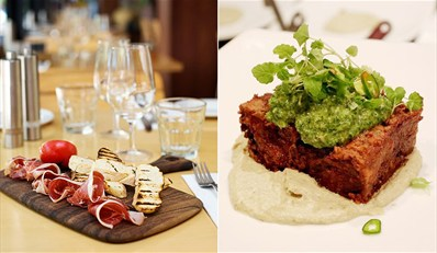 $69 -- Steakhouse Dinner or Lunch for 2 w/Wine & Credit