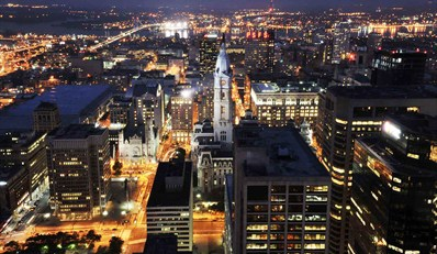 $59 -- BNY Mellon Center: 52nd-Floor City View Dinner for 2