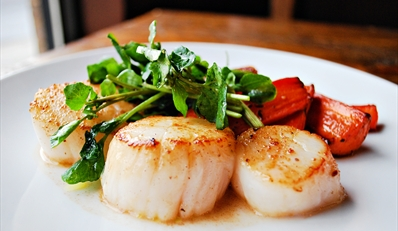$35 -- Drafting Table: Sexy Downtown Dinner for 2, Reg. $74