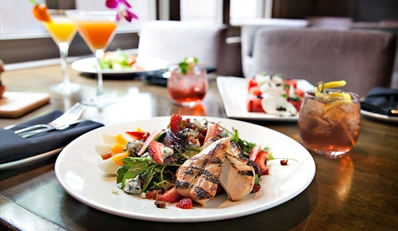 $35 -- The Living Room: Lunch for 2 w/Cocktails, 50% Off