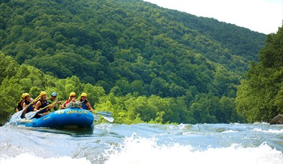 $75 -- 2-Night Camping & Rafting Trip on Lower New River