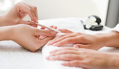 $35 -- Aveda Spa Mani & Pedi in Liberty Heights, Reg. $85