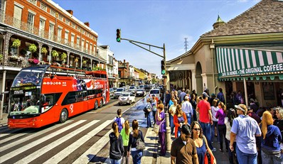 $9 -- Double-Decker Bus Tour of New Orleans, 50% Off