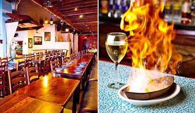$29 -- Award-Winning Taverna Opa: Dinner for 2 at CityPlace