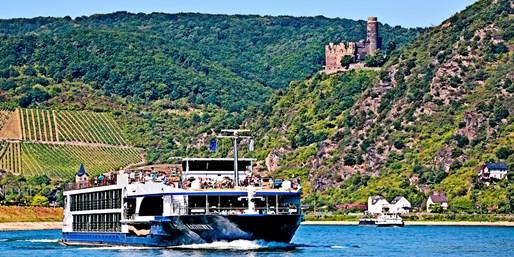 $1316 & up -- Christmas Markets: Upscale Rhine River Cruise