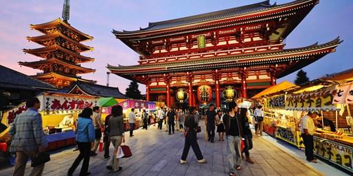 $1659 -- Weeklong Tokyo Vacation incl. Air