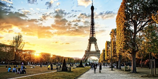 $1157*  -- Atlanta to Paris This Fall & Winter, Roundtrip